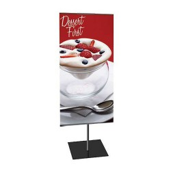 Classic Banner Stand   PRINT AND STAND PACKAGE