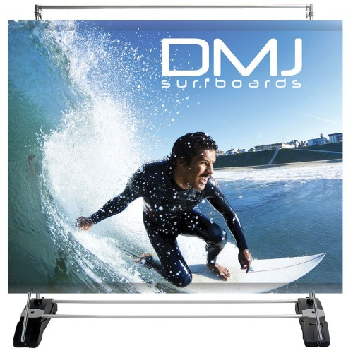 Outdoor Banner Wall Double-Sided Graphic Package