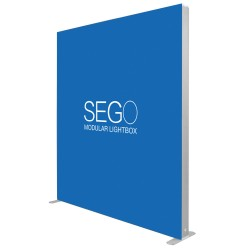 SEGO 6.5ft. x 7.4ft. Lightbox Double-Sided (Graphic Package)