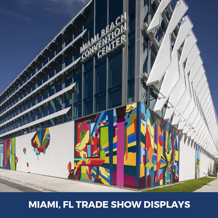 Trade Show Displays Miami, FL - Pop Up Banner Stands in Miami, FL