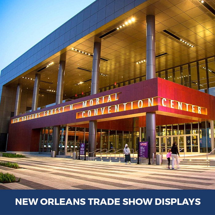 Trade Show Displays New Orleans, LA - Pop Up Banner Stands in New Orleans, LA
