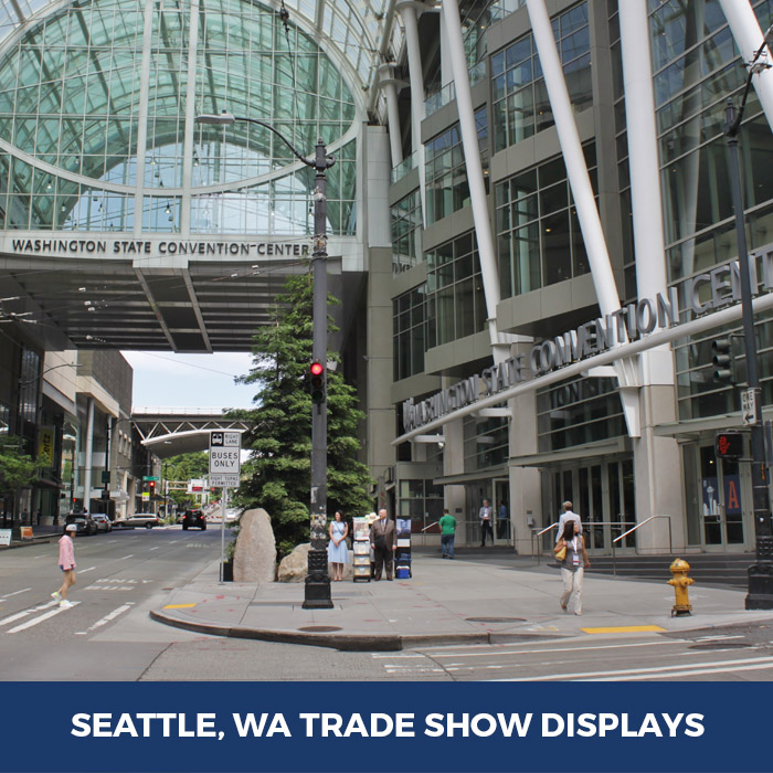 Trade Show Displays Seattle, WA - Pop Up Banner Stands in Seattle, WA